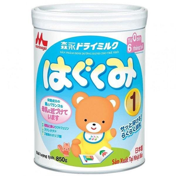 Sữa Morinaga số 1 cho trẻ từ 0 - 6 tháng