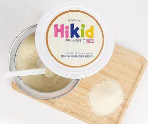 Cách pha sữa Hikid