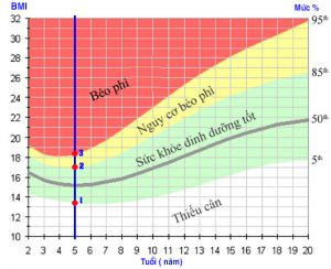 Cách tính BMI trung bình của trẻ 13 tuổi