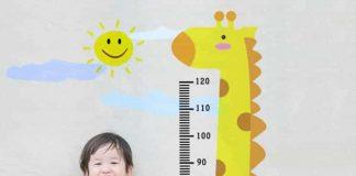 Chiều cao và cân nặng trung bình của trẻ 3 tuổi